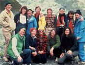 La 13 alpinistas de la expedición al Annapurna del 78.- Foto: Col. Arlene Blum