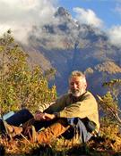 Santiago del Valle durante la expedición.- Foto: SGE