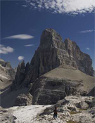 Montaña de los Dolomitas.- Foto: Ignacio Ferrando