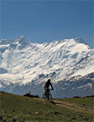 Miguel Ángel durante su viaje por el Himalaya, este año.- Foto: Miguel Ángel Yagüe