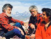 Jean Ravier, Pierre Ravier y Christian Ravier.- Foto: desnivelpress.com