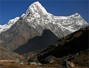 Vista del Kang Nachugo desde el este.- Foto: Joseph Puryear / climbnepal.blogspot.com