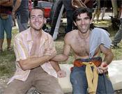 José Luis Palao y Dani Andrada en Rodellar.- Foto: desnivelpress.com