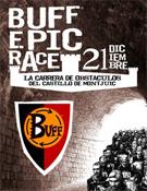 Cartel de la Buff Epic Race.- Foto: Organización