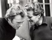 Norman Dyhrenfurth instruye a Clint Eastwood en un rodaje.- Foto: Col. Dyhrenfurth