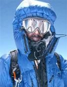 João llegaba de esta guisa a la cima del Gasherbrum I.- Foto: Col. João García