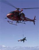 Prácticas de rescate en la Sierra de Guadarrama por el Grupo Especial de Rescate en Altura.- Foto: desnivelpress.com