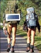 La mayoría de los nudistas serían alemanes.- Foto: BBC