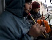 Al mal tiempo, buena música.- Foto: Ben Ditto