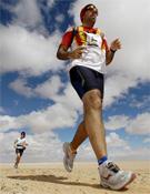 Deporte y solidaridad en el Sahara.- Foto: Org. Maratón del Sahara