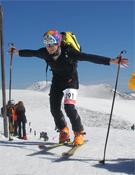 Más de un centenar de esquiadores se congregaron para competir en un espléndido día en Guadarrama.- Foto: FMM