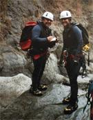 Joan L. Haro y Laura Samsó, pertrechados para la acción.- Foto: Cortesía de Joan L. Haro y Laura Samsó