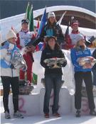 Laura Orgué, en lo más alto del podio.- Foto: Grifone
