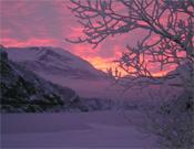 Luz mágica sobre el valle de Naeroydalen.- Foto: cortesía de Robert Jasper