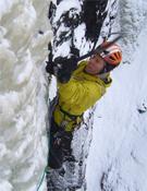Robert Jasper durante su última aventura en las paredes noruegas.- Foto: cortesía de Robert Jasper