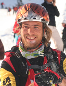 No se le borró la sonrisa de la cara a Javi durante estos cuatro días de competición... bueno quizá en alguno de los descensos... Foto: col. J. Martín