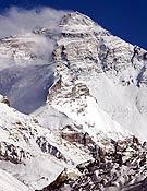 Vista de la cara Norte del Everest.- Foto: Expedición Andalucía Everest