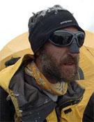 Vicente Lagunilla en el campo base del K2. Foto: desnivelpress.com