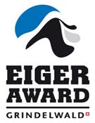 Cartel del premio Eiger Award.