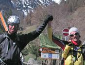 Llegada a Zermatt.