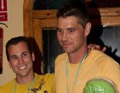 Adrián Ripoll y Chimo Pineda, primeros clasificados. Foto: José Simó.