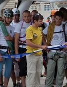 Punto de salida del Rally 12 Horas Millet. Foto: José Simó.