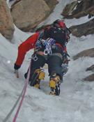 Expedición a las cumbres de Neacola.