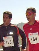 Momento de la carrera en la Barranca.