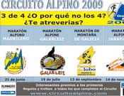 Cartel del Circuito Alpino