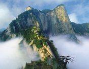 Huashan,una de las cinco montañas sagradas de China