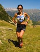 Beatriz Fernández en la Vertical Race Cerler
