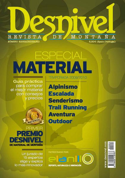 Portada del Especial Material 2009/2010. Diseño portada: Javier Aguilar...