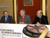 Jurado del Festival Caixa Sabadell de Cinema de Muntanya.