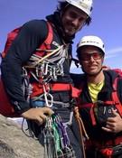 Carlos Suárez y Leo en la ruta Scott.