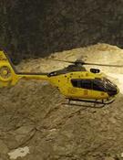 Helicóptero de rescate de la Generalitat de Cataluña