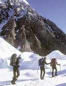Marcha de aproximación al K2.