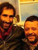 Simón Elías y Ramón Portilla