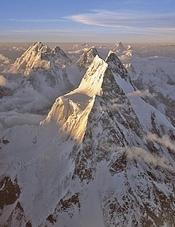 Grupo de los Gasherbrum y Broad Peak Foto: Carlos Soria/ DesnivelPress
