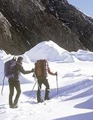 Marcha de aproximación en el K2 Foto: DesnivelPress