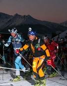 Kilian Jornet y Mireia Miró copan el podio de la PilaSkyRace