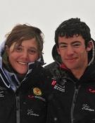 Los campeones del PilaSkyRace, Mireia Miró y Kilian Jornet