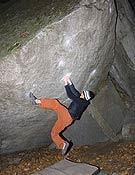 Dave Graham en Cresciano, revolviendo La Proue, 8b. Foto: 8a.nu