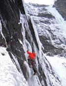 Escalada en hielo en Austria