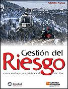 Portada del manual Gestión del riesgo de la que Alberto Ayora es autor.