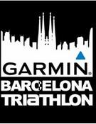 Logo de la Garmin para el Triathlon de Barcelona