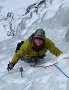 Vanessa Addison en Alpes. ©Colección Vanessa Addison/Equipo Femenino de Alpinismo.