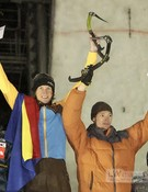 Ice Climbing World Cup 2010. Rumania.