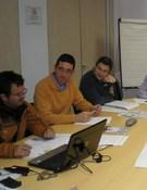 Reunión en la sede federativa. Foto: FEDME