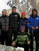 La expedición de Martín y Jorge al K2 de 2009. Foto: Col. Louis Rousseau