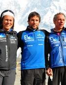 Los miembros de la expedición. Foto: RTVE - Al filo de lo imposible